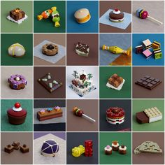 Brick Projects, Lego Projects, Lego Christmas, Merry Christmas, Lego Food, Lego Advent, Van Lego, Lego Furniture, Lego Creative