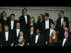 """The Choir from Millikin University (Brad Holmes, conductor) performs """"Shaker Dance"""" during the 2011 ACDA National Conference in Chicago, Illinois."""