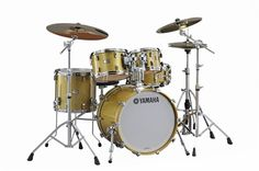 Show details for Yamaha Absolute Hybird Maple Drum Set Gold Champagne Sparkle