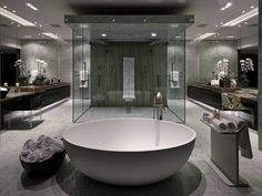 10-Luxury-White-Master-Bathrooms-You-Will-Love-to-Have-6 10-Luxury-White-Master-Bathrooms-You-Will-Love-to-Have-6