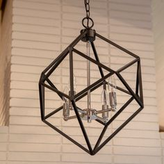 Shop for Alexa Metal Geometric Pendant. Get free delivery On EVERYTHING* Overstock - Your Online Ceiling Lighting Store! Get in rewards with Club O! Chandeliers, Chandelier Ceiling Lights, Pendant Lighting, Light Pendant, Ceiling Fans, Track Lighting Fixtures, Cool Lighting, Light Fixtures, Geometric Pendant Light