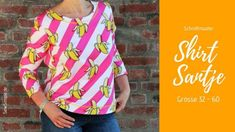 Shirt selber nähen Diy Shampoo, Textiles, Sewing Projects For Beginners, Sewing Techniques, Hand Weaving, Your Style, Knitting, Boho, Patterns