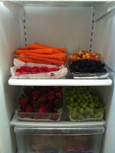 weekly food prep... vinegar wash for fruits and veggies. brilliant.