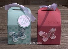 Leckereien box hausgemachte leckerbissen watercolor wing stampin up Leckereienbox
