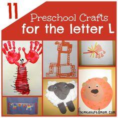 Letter B  craft | 11 Crafts for Preschool: The Letter L | EEC 2k Misc