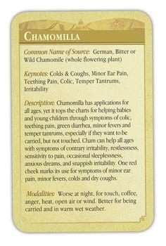 Homeopathic Chamomilla