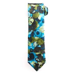 Big & Tall Jerry Garcia Extra-Long Tie & Collector's Pin Set, Men's, Size: X Long, Med Green