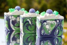 Blackberry Sage Handmade Soap Coconut Milk by XplosiveCosmetiX