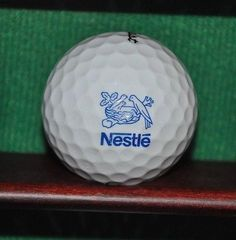 Nestle logo golf ball. Titleist #golfbeginnerstips