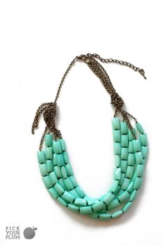 Seriously!?!  $5.99  This is crazy.  Dress Your Neck - Acrylic Bead Necklace GET IT BEFORE YOUR NEIGHBOR http://www.pickyourplum.com/