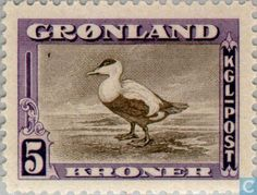 Stamps - Greenland - Interamerican Edition 1945