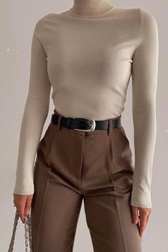 Business Casual Outfits, Professional Outfits, Cute Casual Outfits, Stylish Outfits, Stylish Girl, Elegantes Business Outfit, Elegantes Outfit, Winter Fashion Outfits, Fall Outfits