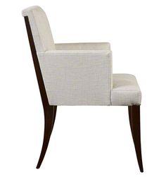 Atelier Dining Arm Chair - Baker Furniture   Luxe Home Philadelphia