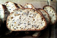 King of fruits Sourdough bread with roasted butternut pumpkin and black sesame seeds | The Fresh Loaf
