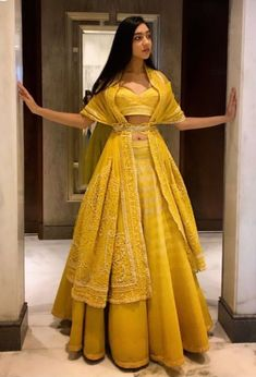 Beautiful Lehenga with Hand Embroidered blouse and dupatta, draped as jacket with waist handcrafts - galon Indian Wedding Outfits, Bridal Outfits, Indian Outfits, Winter Wedding Outfits, Indian Weddings, Lehenga Choli Designs, Designer Bridal Lehenga, Designer Lehanga, Indian Lehenga
