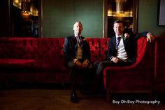 David and Glen's Civil Partnership at The #MayFair Hotel   #GayWedding #CivilPartnership #Love #EqualMarriage 8