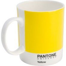Yellow Pantone Mug - Looks great in our office & essential for tea & coffee! #officeessentials #officedesign #products