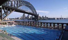 Sydney Olympic swimming pool
