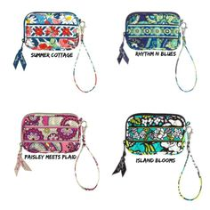 Vera Bradley Tech Case-13 color choices-NWT. Starting at $10