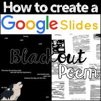 There's a certain zen quality to creating traditional blackout poems.that is until in your Sharpie induced brain fog, you acciden. Google Docs, Google Drive, Digital Poetry, Blackout Poem, Poetry Lessons, Poetry Quotes, Quotes Quotes, Ap Literature, American Literature