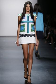 Crochet at London Fashion Week Spring Summer 2016 and Other High Fashion  Crochet 83f9d40a96