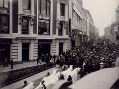 Anton Chekhov's funeral. Moscow, 9th july 1904.