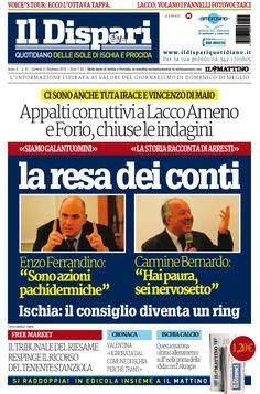 La copertina del 11 febbraio 2016 #ischia #ildispari