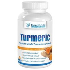 Turmeric Curcumin Capsules – Premium Grade – Standardized 95% Curcuminoids – Boosts Anti Inflamatory Response – Powerful Antioxidant – 60 X 500 Mg Capsules for Full Months Supply – Full 30 Day Money Back Guarantee