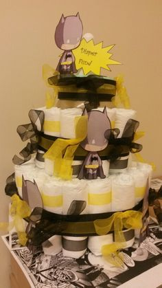 Batman Baby Showers on Pinterest | Superhero Baby Shower, Batgirl ...