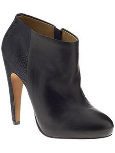 Great with skinny jeans, blouse and cropped jacket. Or gorgeous with opaque tights and dress and leather jacket!