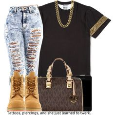 Bishes on polyvore b sayin like the collection if u gonna like the items and if u dnt imma report you and iam over here like Bish Whet ?? hol up lmao u gonna report sumbody over sum fcked up petty ish like det, created by trillest-queen on Polyvore