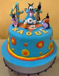 Resultado de imagem para oggy and the cockroaches cake