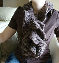 I love the idea of having a soft cozy neck piece. Sometimes I find the long scarves a bit cumbersome, and sometimes I find the skinny scarves impractical.