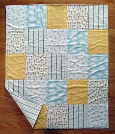 All Fives Baby Quilt | FaveQuilts.com