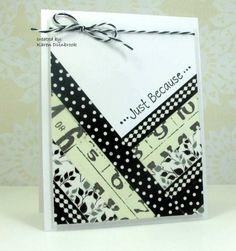 WT462, In Black and White by k dunbrook - Cards and Paper Crafts at Splitcoaststampers