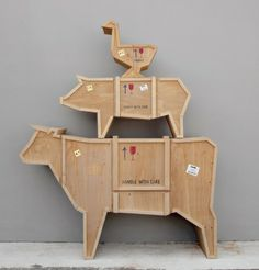 Commode Vache - Sending Animals - Orgone Design : Furniture et Dressers, chest of drawers