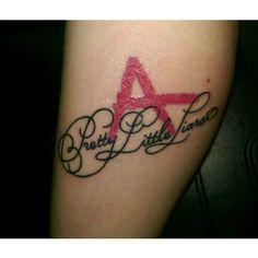 pretty little liars tattoo. love it