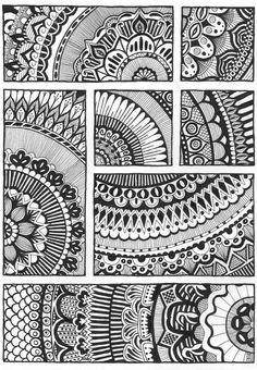 Mandala no 1 Canvas Print by benterasmussen Easy Mandala Drawing, Mandala Sketch, Mandala Doodle, Mandala Tattoo Design, Easy Doodle Art, Doodle Art Designs, Doodle Art Drawing, Zentangle Drawings, Zentangles