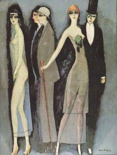 Kees van Dongen, Montparnasse Blues, 1922-25