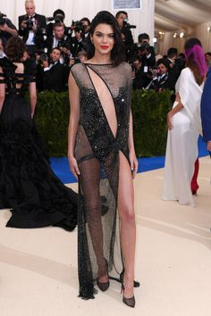 Kendall Jenner in La Perla and Christian Louboutin shoes
