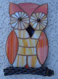 Owl On Cholla Rib - By LT Designs