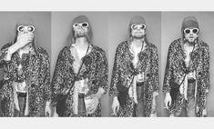 Kurt Cobain Tattoo, Morrison Hotel, Nirvana Kurt Cobain, Dave Grohl, The Godfather, Aesthetic Art, Music Artists, Photo Galleries, Black And White