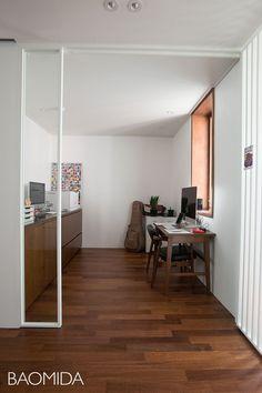 [마포강변힐스테이트] 미니멀라이프를 실천하는 싱글하우스 24평인테리어 by 바오미다 : 네이버 블로그 Oversized Mirror, Interior, House, Furniture, Home Decor, Decoration Home, Home, Room Decor, Design Interiors