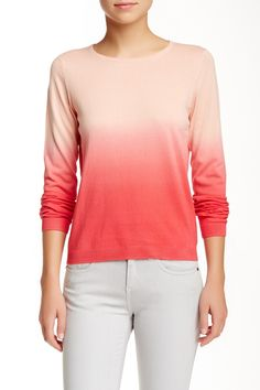 Caitlyn Ombre Sweater by T Tahari on @nordstrom_rack