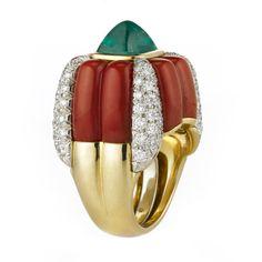 David Webb | Categories | rings | Candy Corn Ring