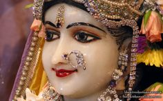To view Radha Close Up Wallpaper of Bhaktivedanta Manor in difference sizes visit - http://harekrishnawallpapers.com/sri-radha-close-up-iskcon-bhaktivedanta-manor-wallpaper-004/