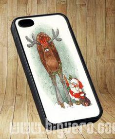 Belles Deer Santa Christmas Cases iPhone, iPod, Samsung Galaxy