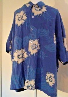 Honolua Surf Co Mens Shirt Size XXL Hibiscus Print MultiColor 100% Silk Hawaiian | Clothing, Shoes & Accessories, Men's Clothing, Casual Shirts | eBay!