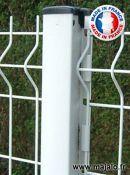 Poteau Doli blanc, ht 2m50