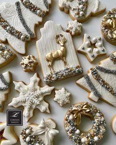 "1,043 Likes, 47 Comments - Lorena Rodriguez (@lorenarodriguezsaenz) on Instagram: ""Lorena Rodríguez. Christmas cookies. White Christmas cookies #lorenarodriguez #lorenassweets…"""